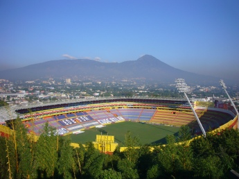 10SOCCER-Cuscatlán Stadium in San Salvador.
