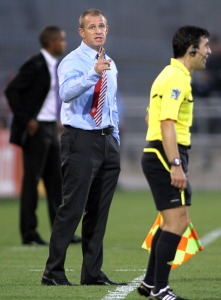 Atlanta Silverbacks Coach Gary Smith (Atlanta – GA…