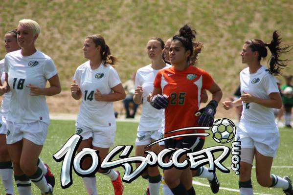 10SOCCER-GEORGIA GWINNETT COLLEGE WOMAN'SOCCER TEAMS