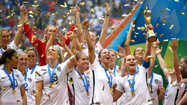 10SOCCER - WOMAN WORLD CUP CHAMPIONS 2015 - USA WINNER