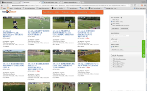 All MLS, NASL, USL, and NWSL game videos are available to the PRO assessors. Recent NASL and USL games are shown here.